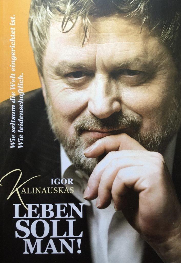 Книга Игоря Калинаускаса