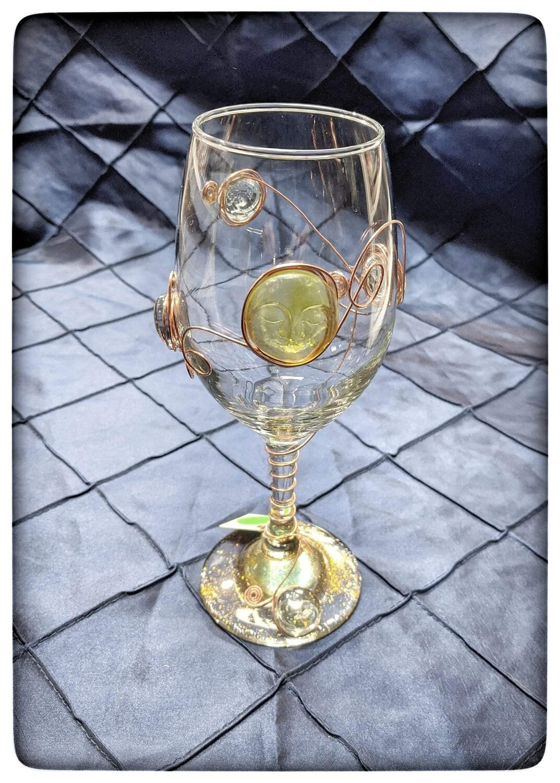 Goddess Glass for Wine
