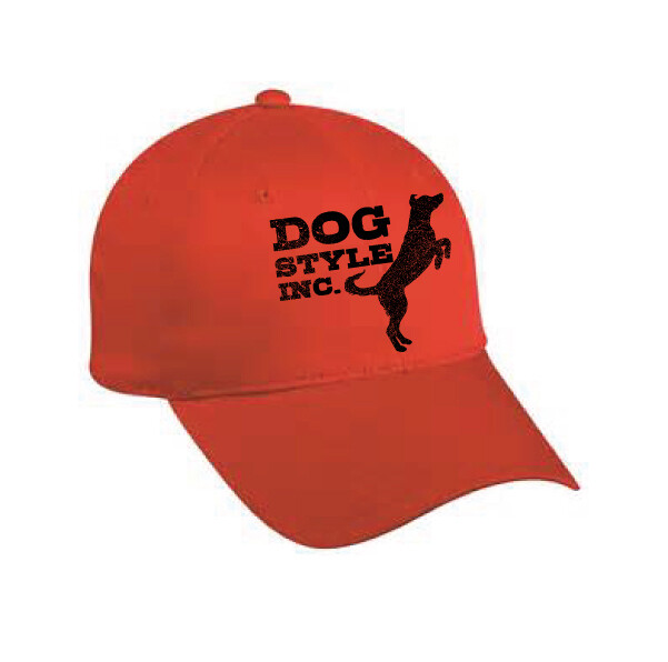 Jumping Dog Flexfit Hat - Red