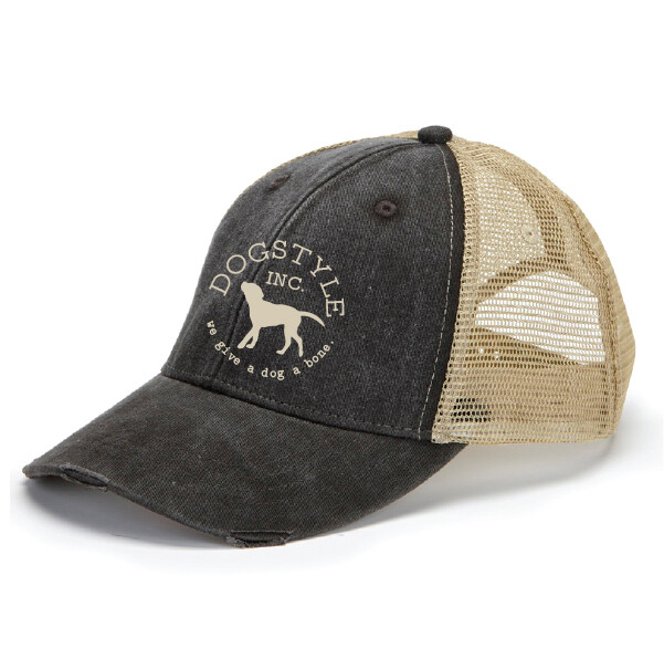 Dogstyle Distressed Trucker Cap