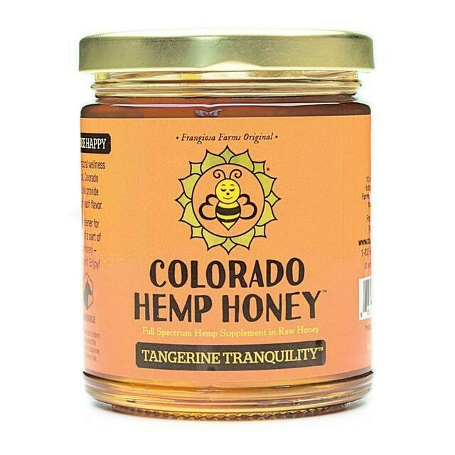 Tangerine Tranquility Honey Jars - 12oz