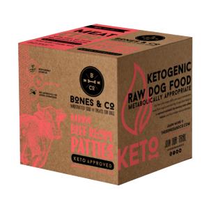 Bones & Co   18lb Patties (bulk)