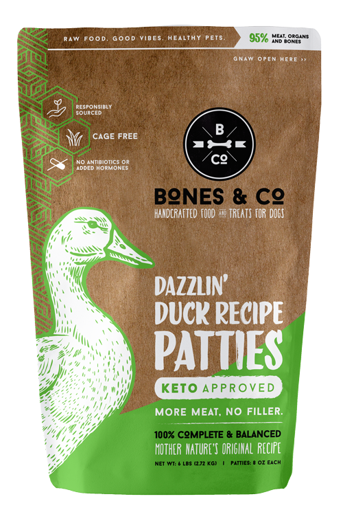 Bones & Co   6lb Patties
