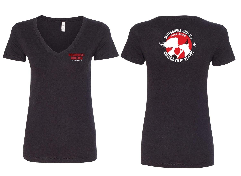 Bombshell 10th Anniversary V-Neck Shirt