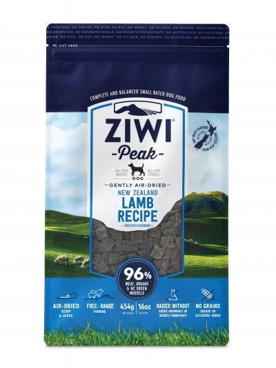 Ziwi Peak Air-Dried Lamb (1lb or 2.2lb)