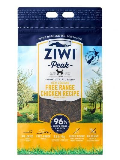 Ziwi Peak Air-Dried Free Range Chicken (1lb or 2.2lb)