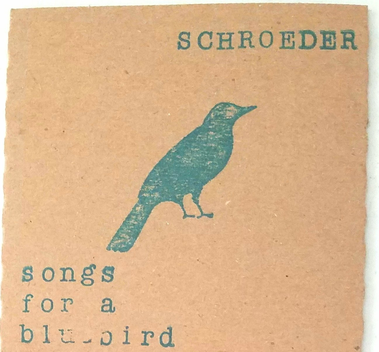 Songs for a Bluebird (CD)