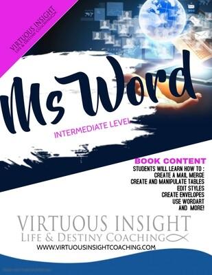 E-BOOK- MS Word Intermediate