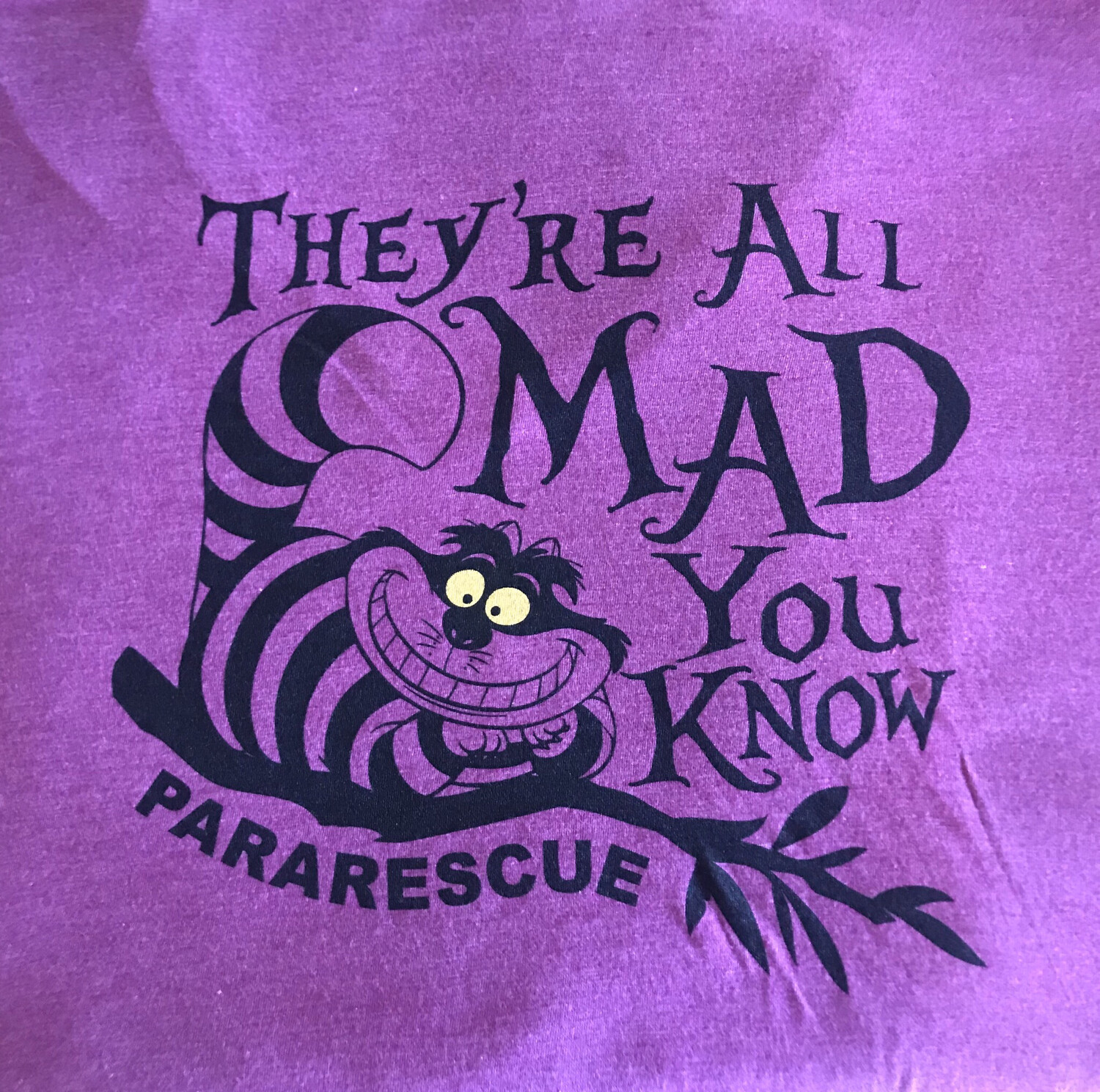 "Pja/ T-Shirt Ladies ""They're All Mad You Know"""
