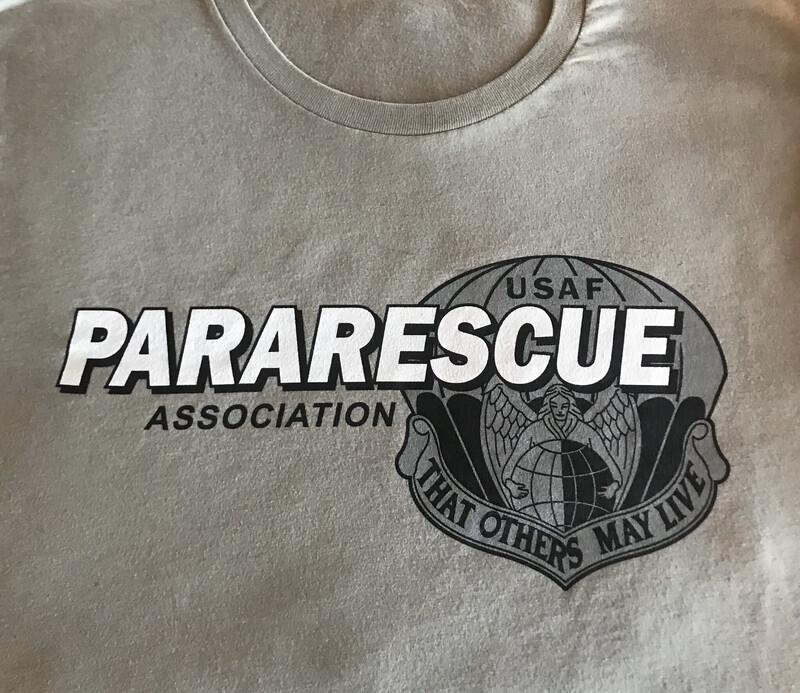 pja/ T-Shirt Green PJA Pararescue Motto