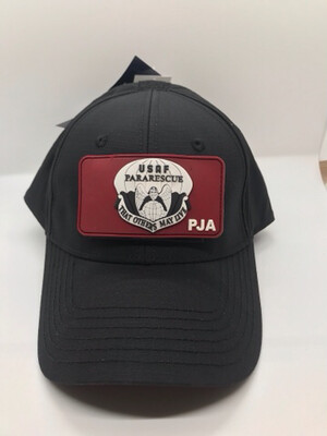 pja/ Cap - PJ Black Cap w/ Velcro Patch