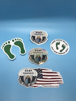 dsp/ Sticker Pararescue Bulk Bundle (X5)