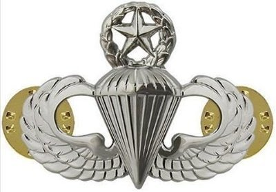 bdg/ Badge Master Parachutist Wings - Mirror Finish (Regulation Badge)