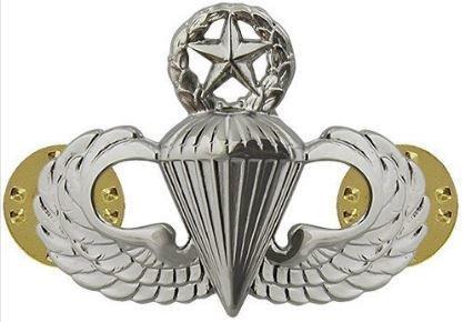 bdg/ Badge Master Parachutist Wings - Mirror Finish (Regulation Badge)