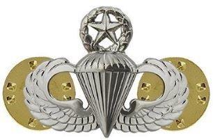 bdg/ Master Parachutist Wings - Mirror Finish (Mini Badge)