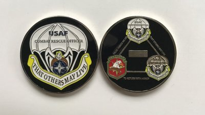 pja/ Challenge Coin - Combat Rescue Officer   (CRO)