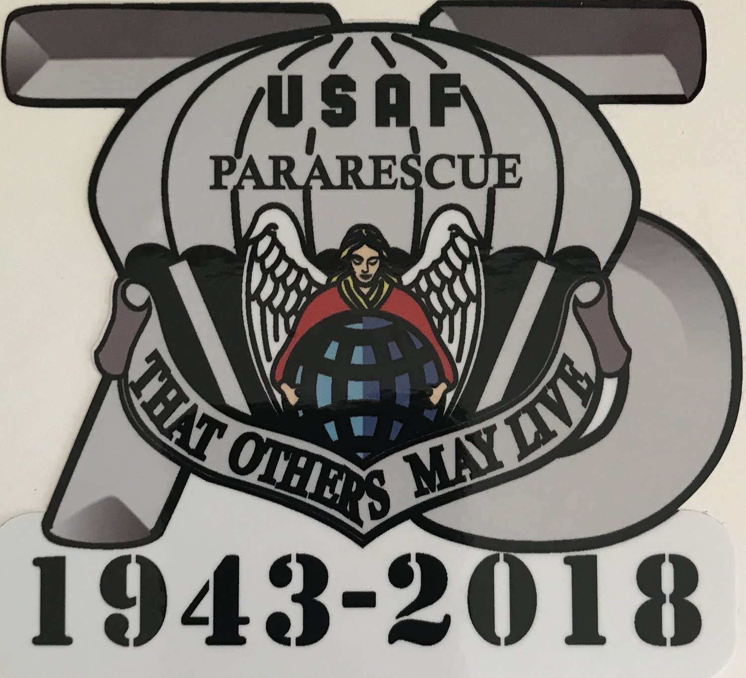 dsp/ ParaRescue 75th Anniversary Sticker (2 stickers)