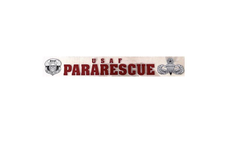 dsp/ Sticker Pararescue Window Sticker - 16