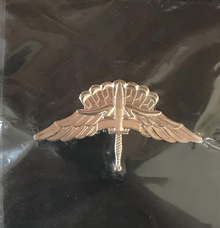bdg/ Badge Freefall Jump Wings - Mirror Finish (Regulation size)