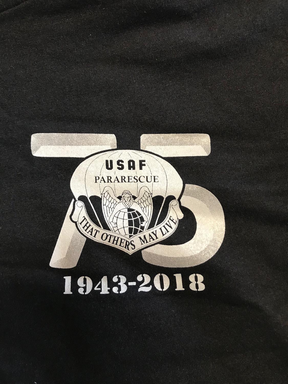 pja/ T-Shirt Black 75th Anniversary