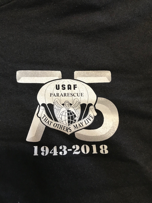 pja/ T-Shirt Black 75th Anniversary