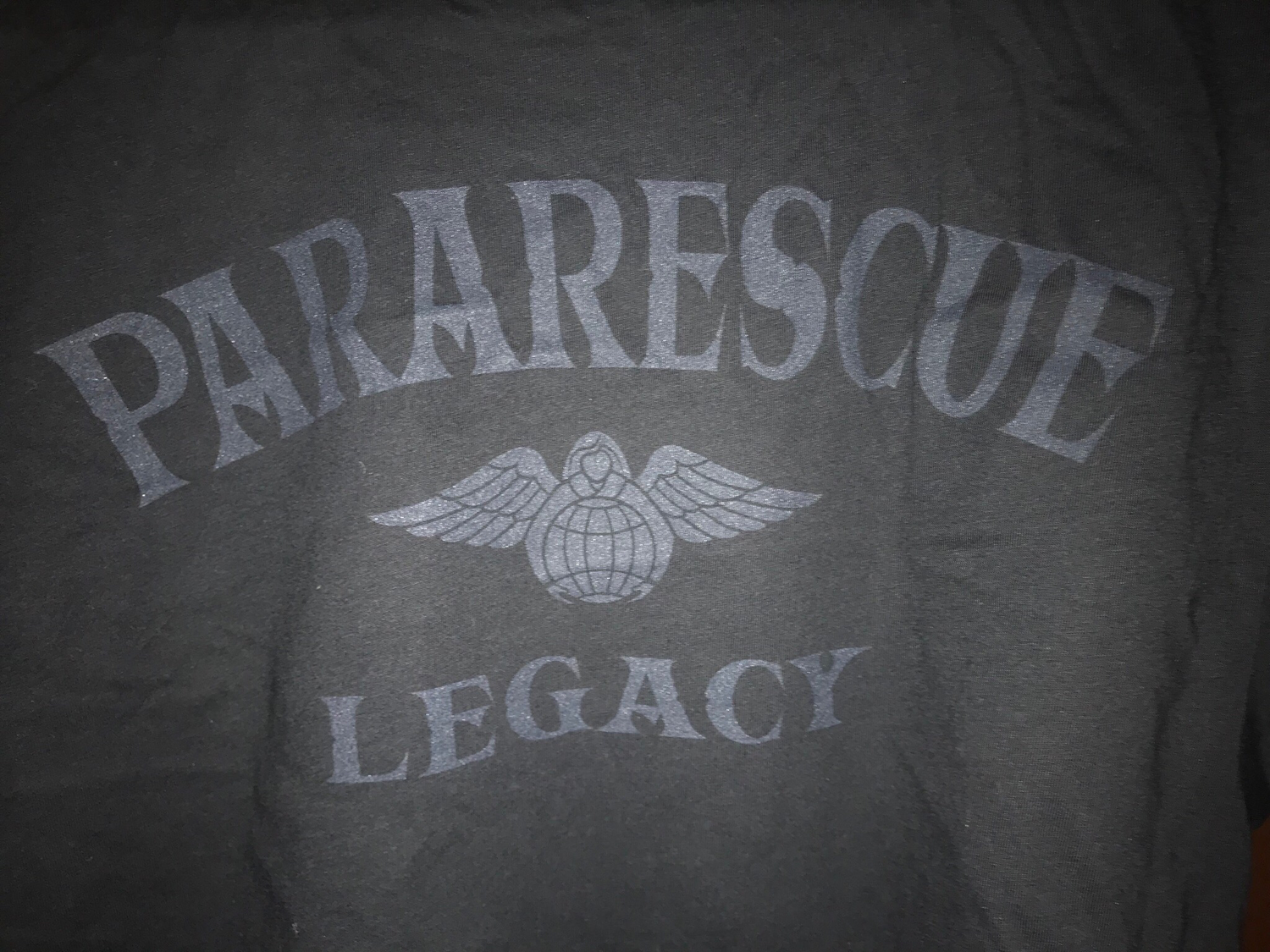 "pja/ T-Shirt Black ""Pararescue Legacy"""