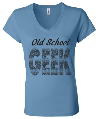 Old School Geek T-Shirt (Women's)