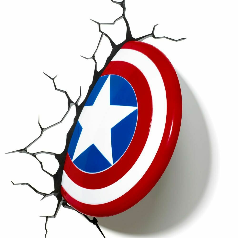 Marvel Avengers: Captain America Shield 3D led Light