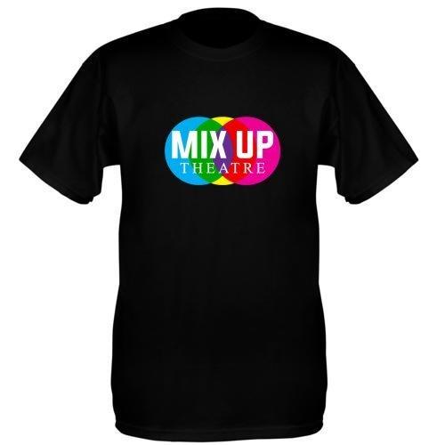 Mix Up Theatre T-Shirt - Black