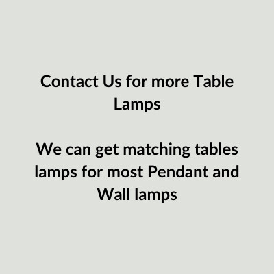 Contact Us - Custom Table Lamp