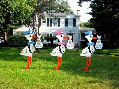 Stork Sign Complete