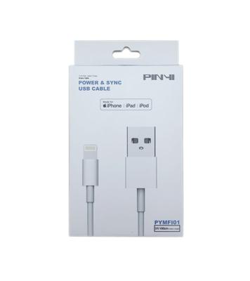 USB-A til Lightning kabel - MFI certificeret