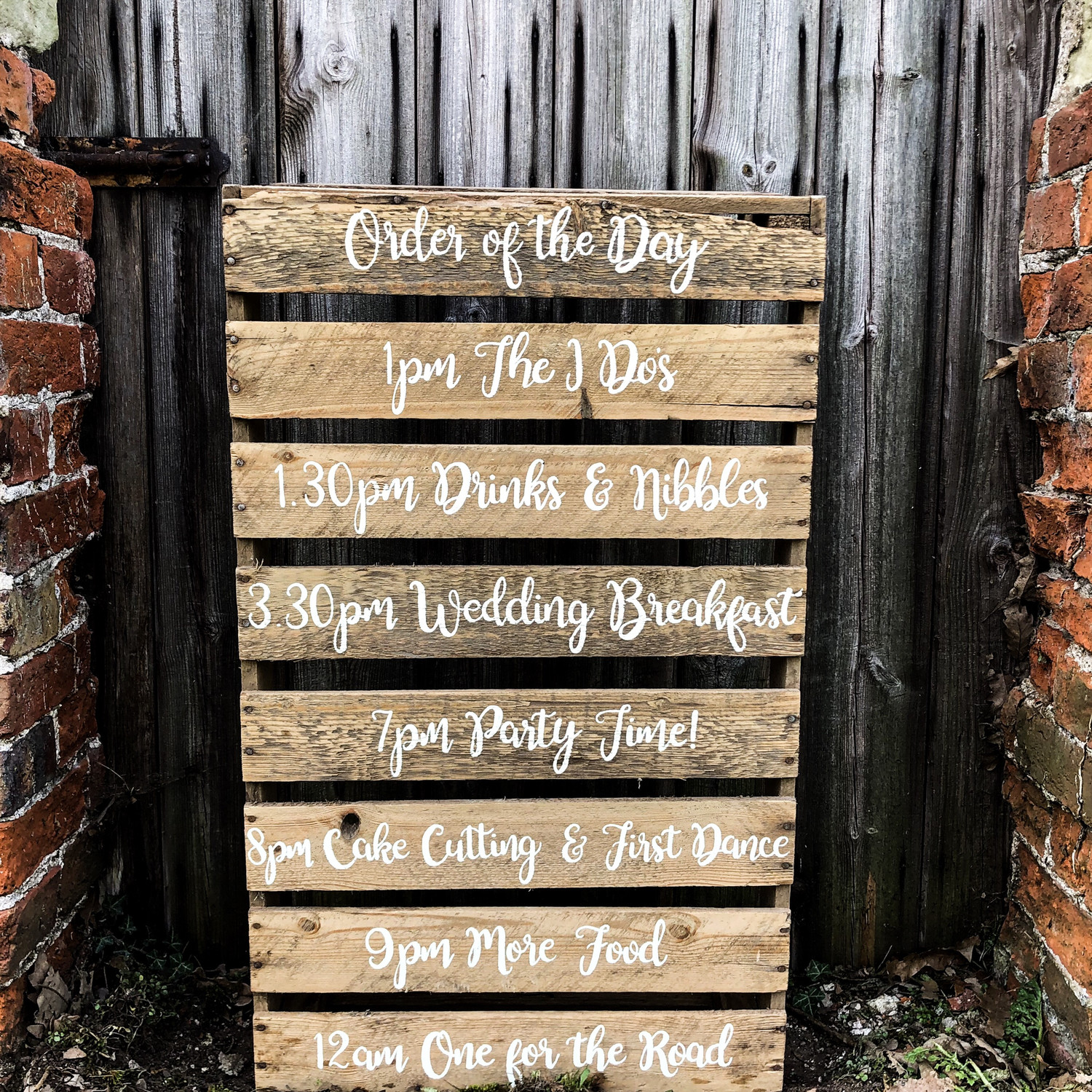 Order Of The Day Mini Pallet