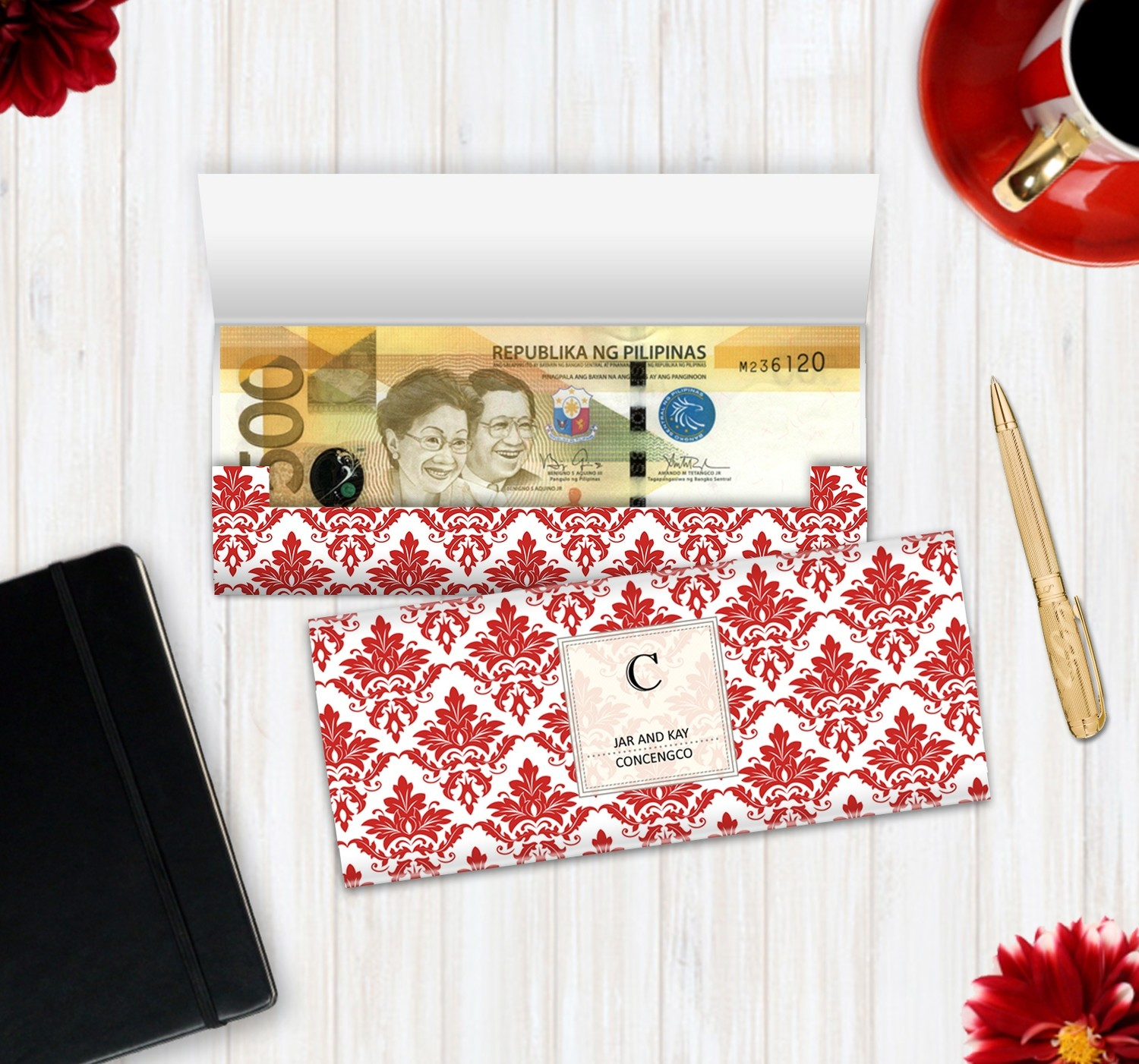 Personalized Money Envelope