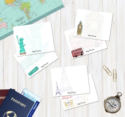 Travel Notecards