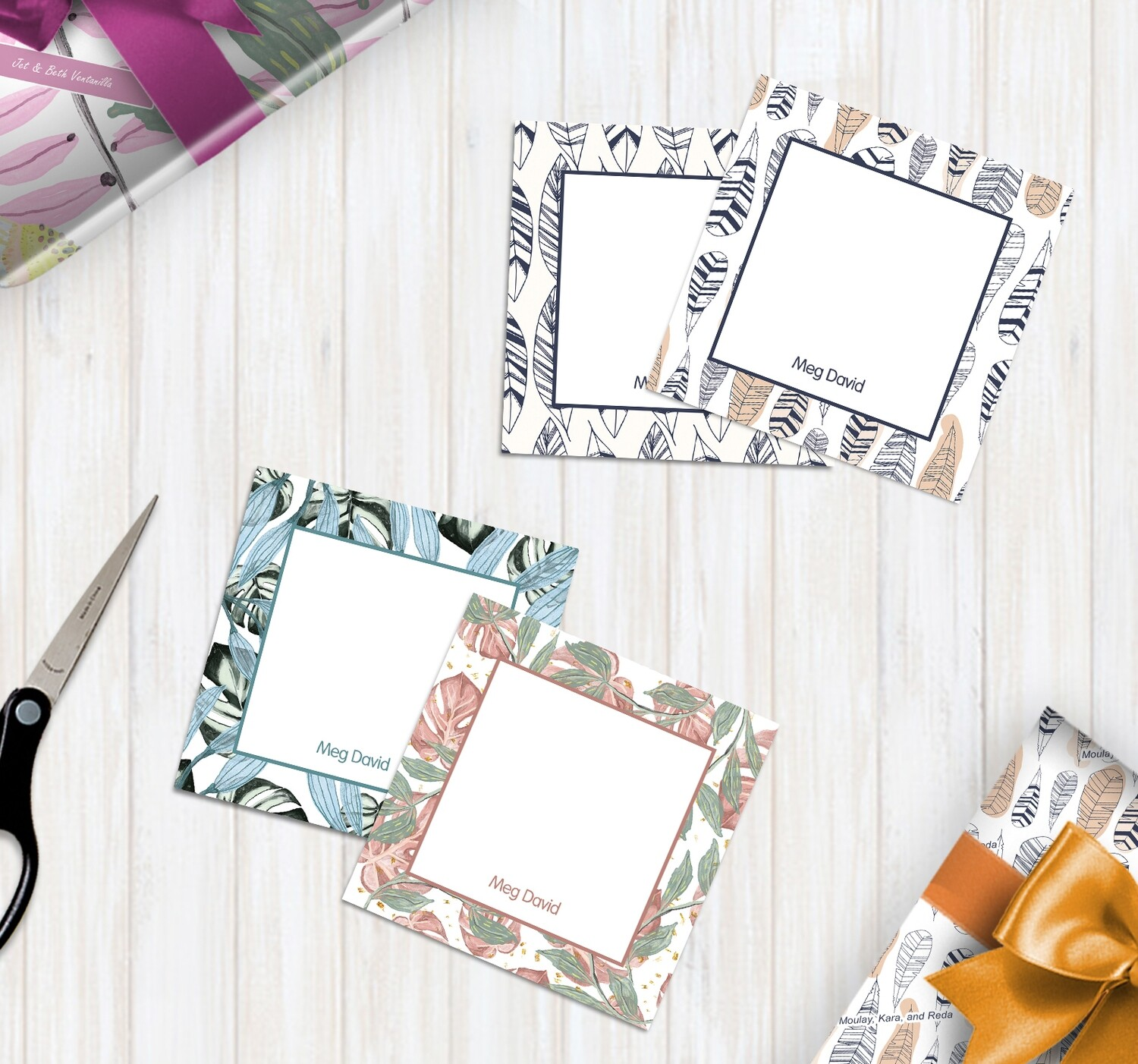 Patterned Gift Tags