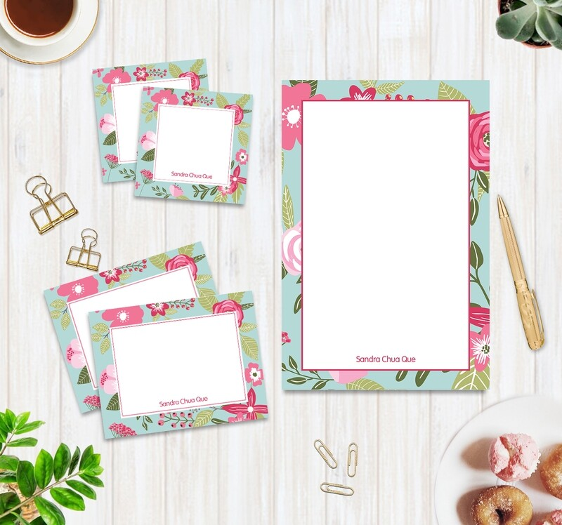 Full Color Stationery Set