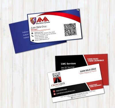Calling Cards (2 Sided Print)