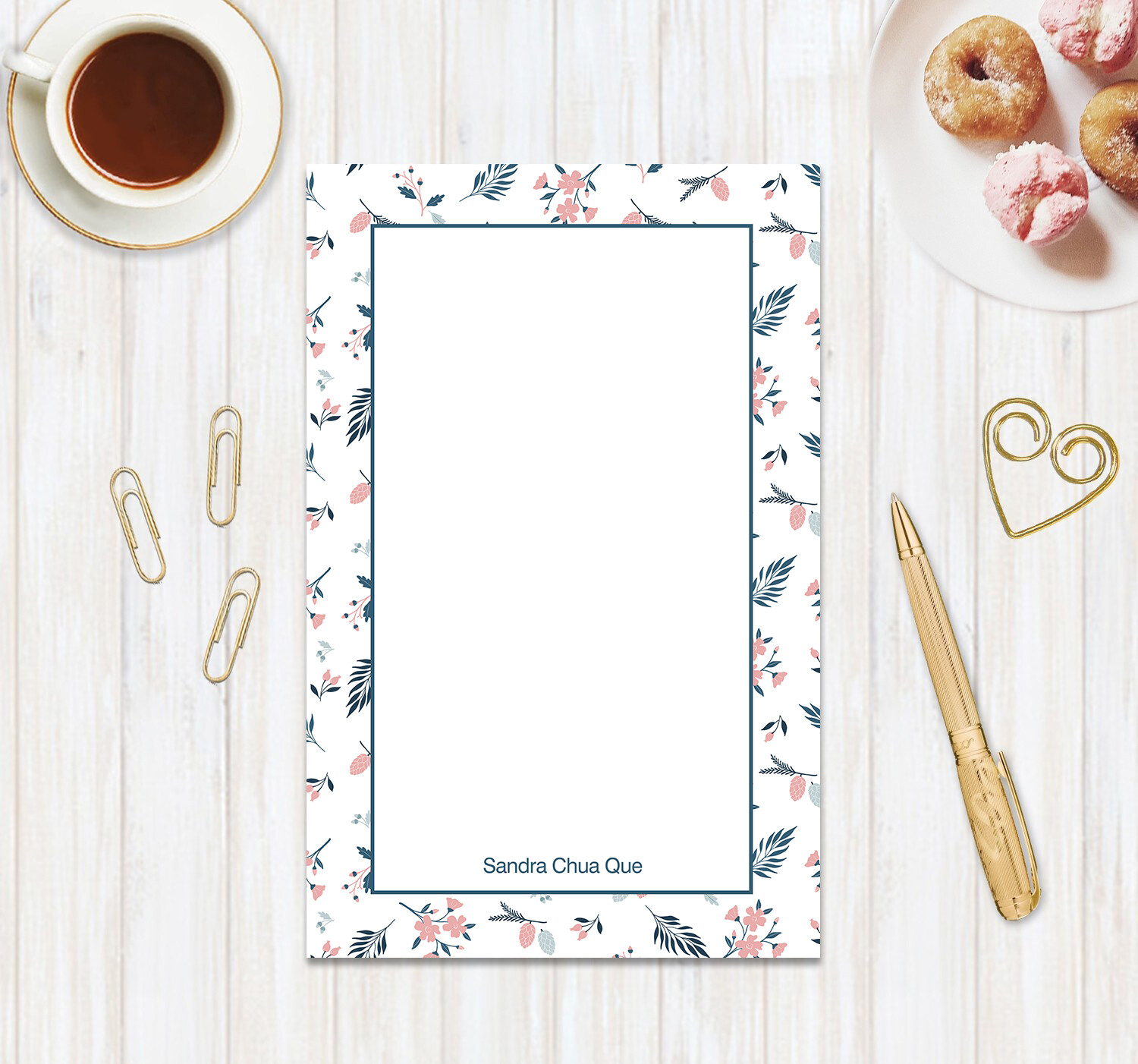 Full Color Half and Mini Notepad