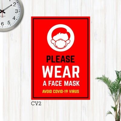 Covid-19 Preventive Sinages (Tarpaulin)