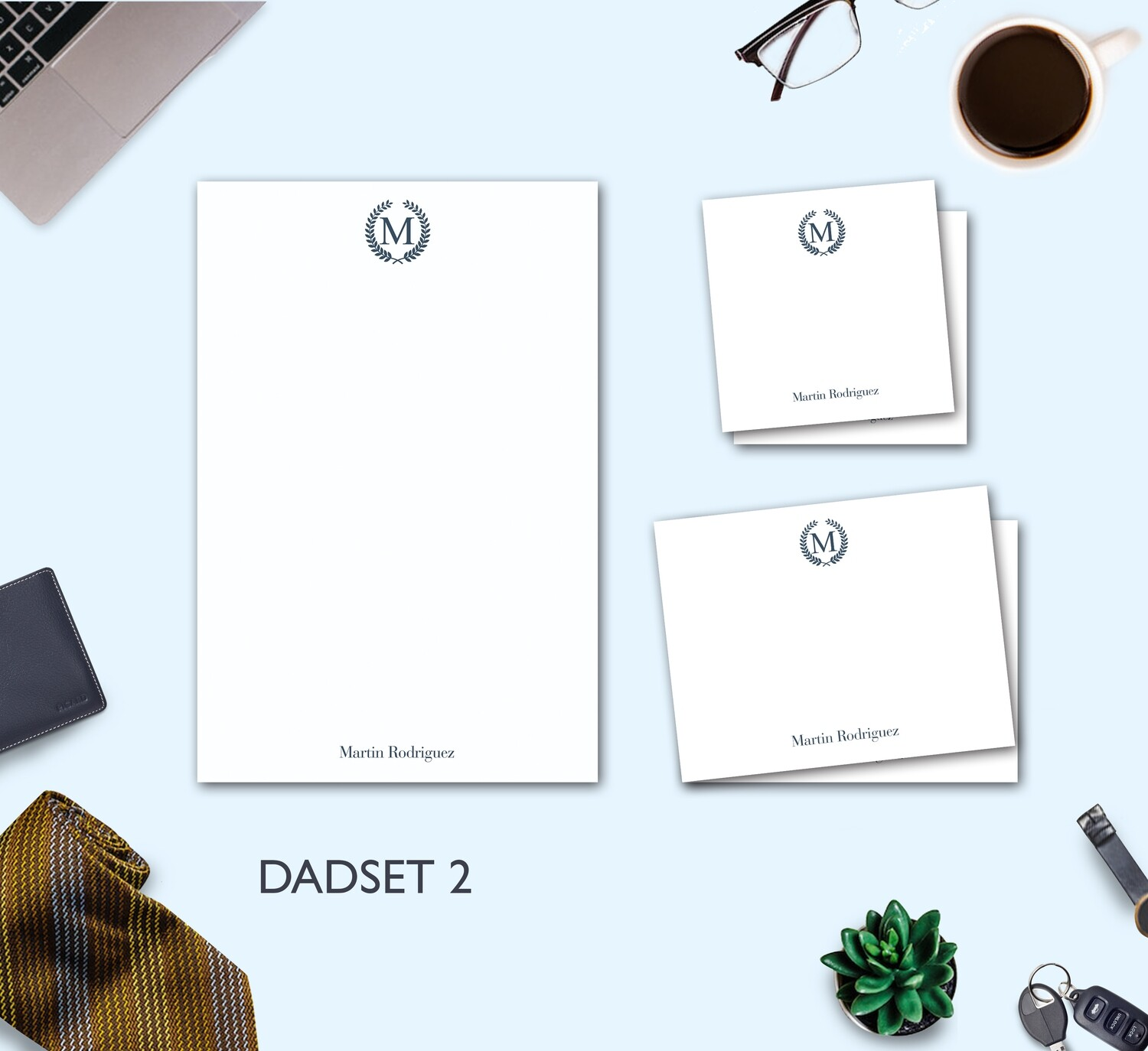 Father's Day Stationery Set 2