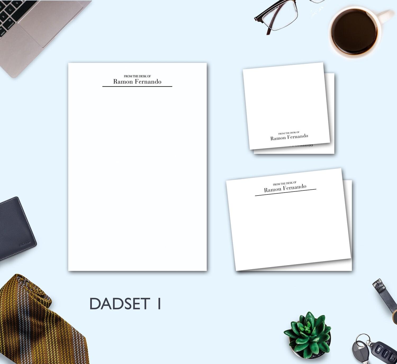 Father's Day Stationery Set 1