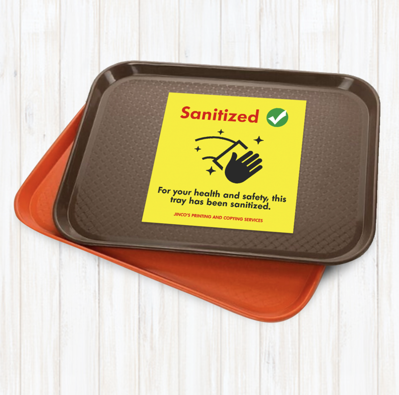 Food Tray Stickers