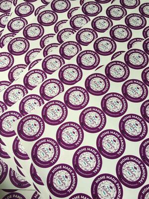 Sticker Labels - 1 x 1 inch