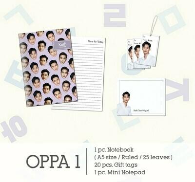 Oppa Stationery Set