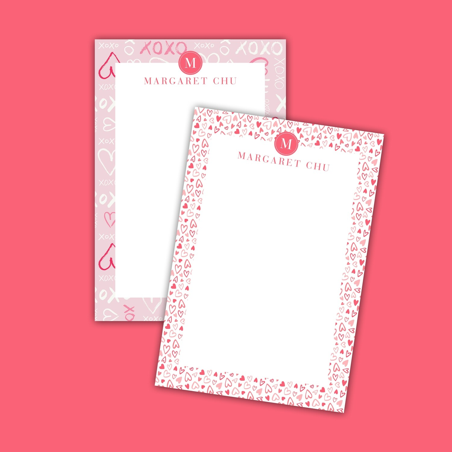 Valentine's Day Full Color Notepad