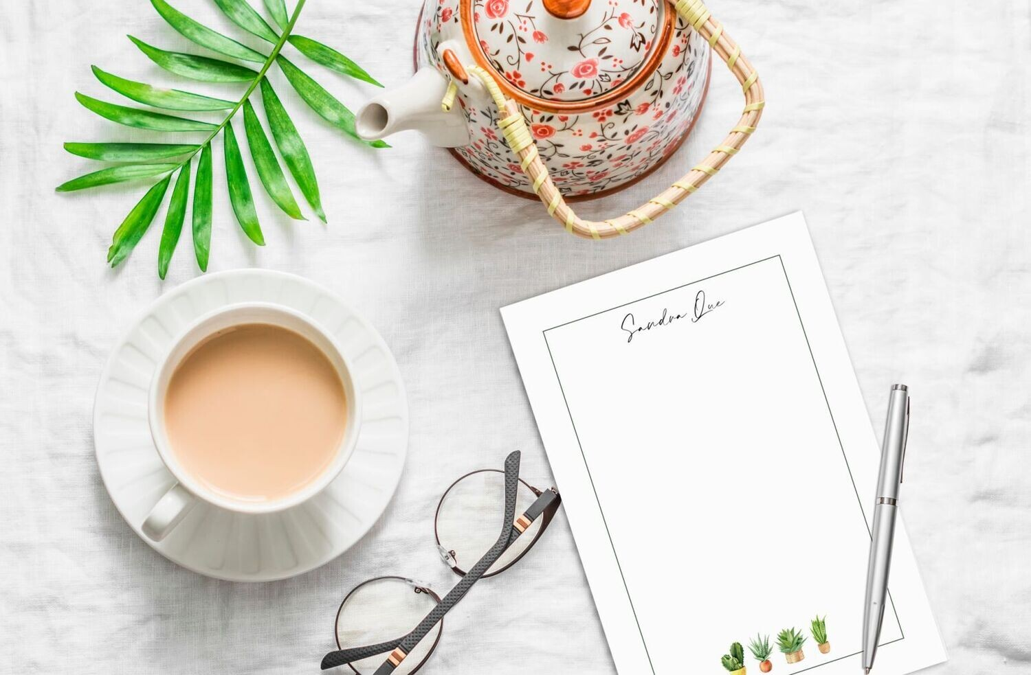 Home Plants Notepad