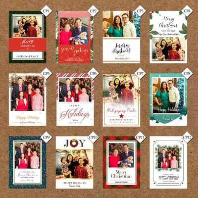 Christmas Photo Gift Tags