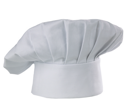 CC01 CHEF CAP WHITE