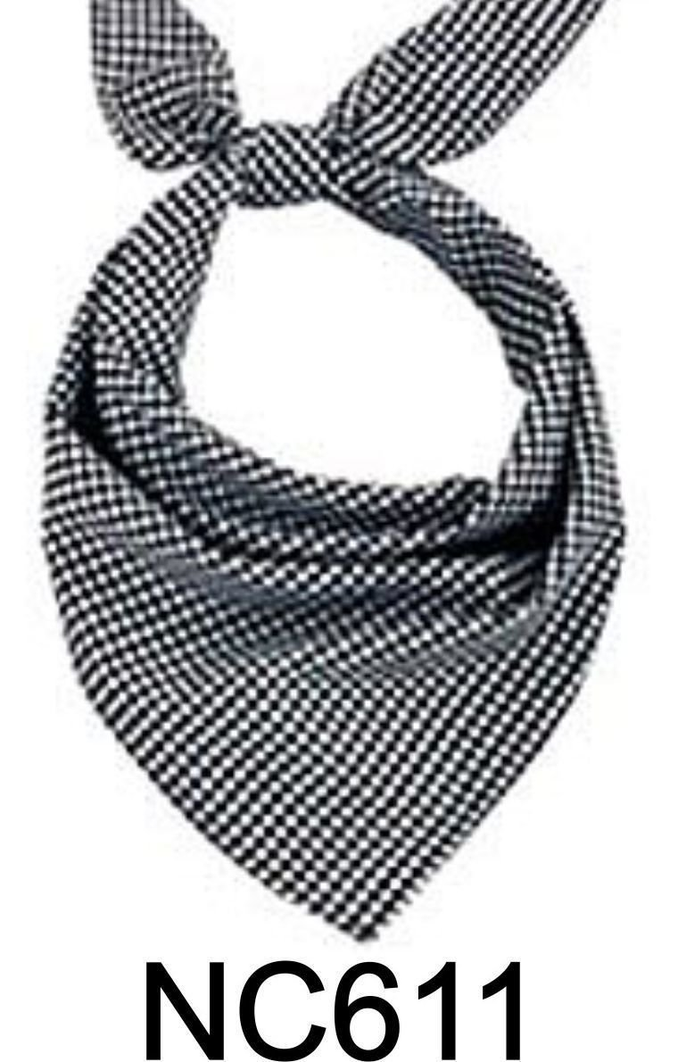 NC611 NECKERCHIEF CHECK
